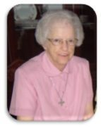 Sr. Mary Zavacky, SUSC   May 16, 1931~ Nov. 27, 2019